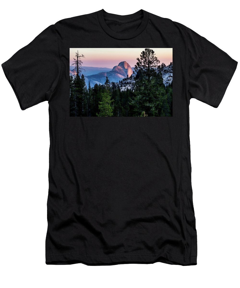 California Men's T-Shirt (Athletic Fit) featuring the photograph Back Of The Half by Joe Azevedo