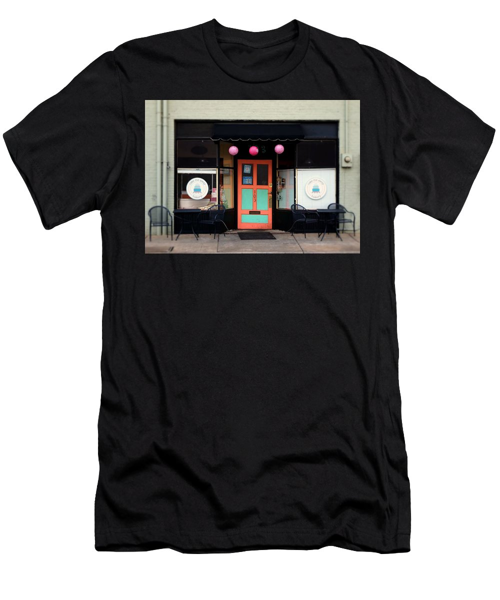 Fine Art Men's T-Shirt (Athletic Fit) featuring the photograph Bakery by Rodney Lee Williams