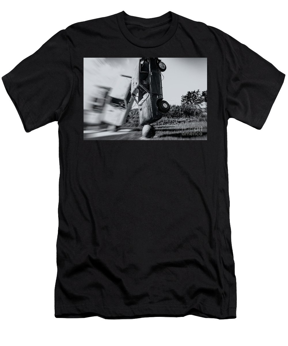 Yugo Men's T-Shirt (Athletic Fit) featuring the photograph Balance by Grant Dupill