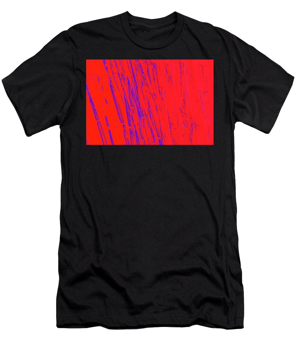 Trees Men's T-Shirt (Athletic Fit) featuring the photograph Bamboo Johns Yard 12 by Gary Bartoloni