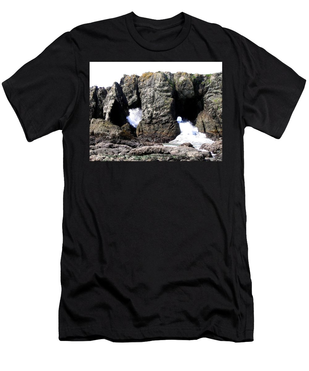 Bandon Men's T-Shirt (Athletic Fit) featuring the photograph Bandon 17 by Will Borden