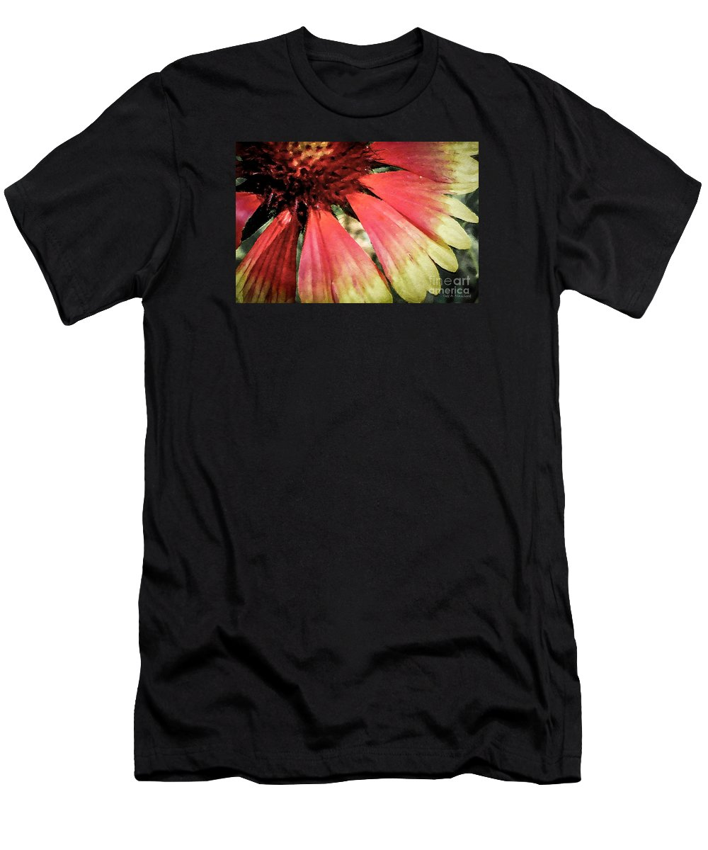 Flora Men's T-Shirt (Athletic Fit) featuring the photograph Basking In The Sun by Todd Blanchard