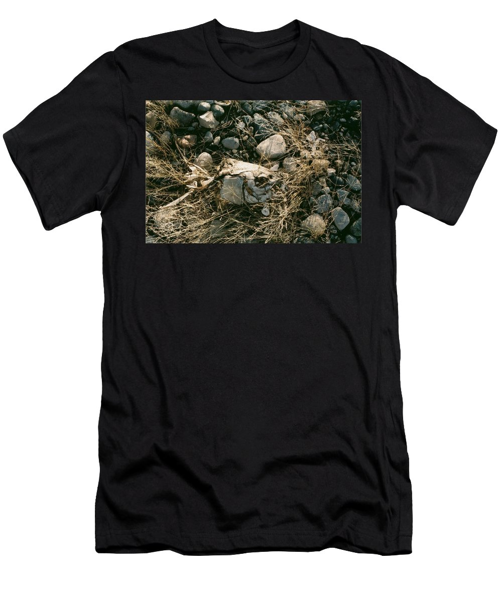 Beached Men's T-Shirt (Athletic Fit) featuring the photograph Beached by David Jacobi