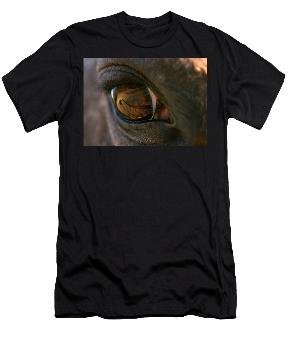 Shadow Men's T-Shirt (Athletic Fit) featuring the photograph Beauty Is In The Eye Of The Beholder by Angela Rath