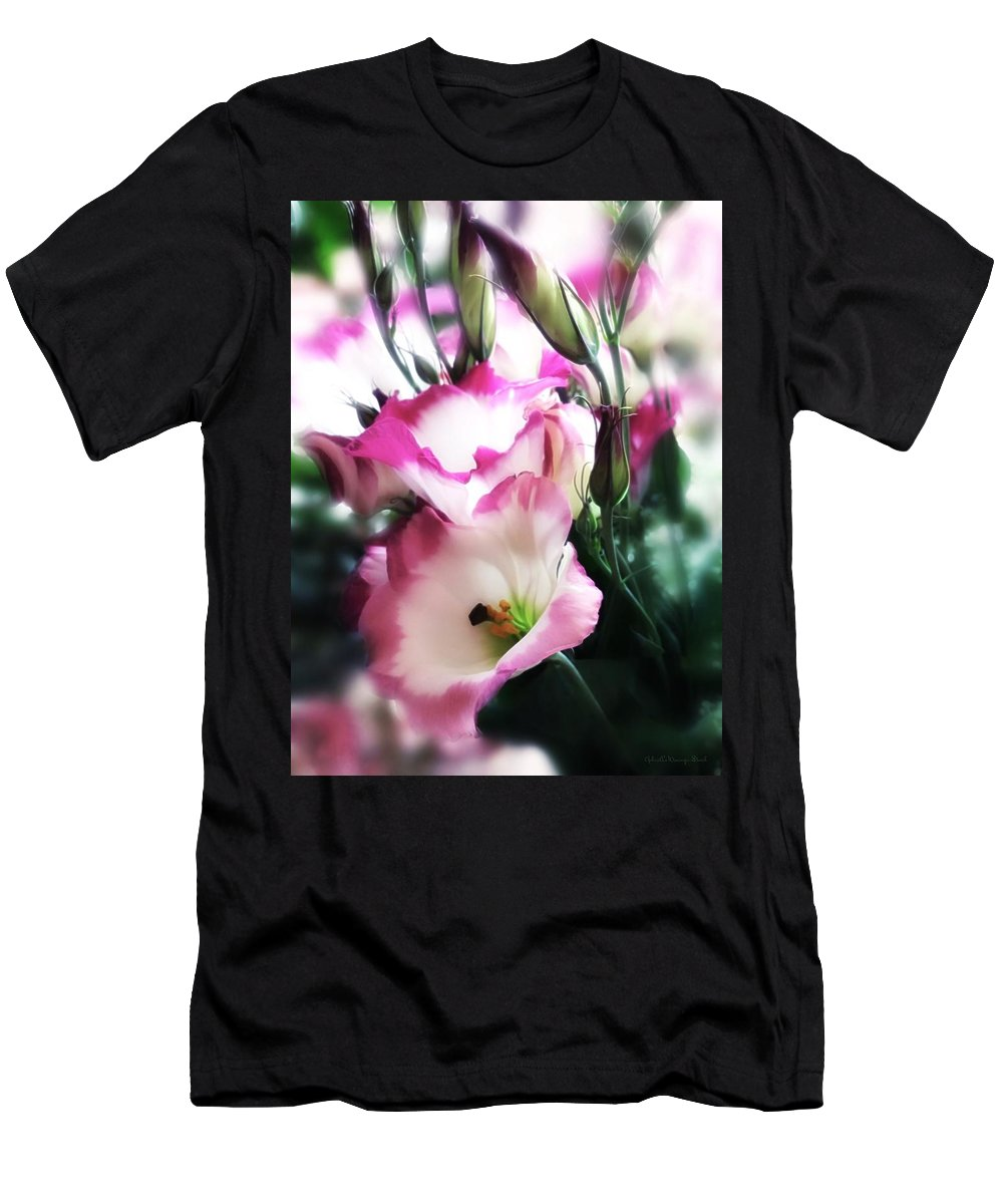 Tv Men's T-Shirt (Athletic Fit) featuring the photograph Beauty Of The Day by Gabriella Weninger - David