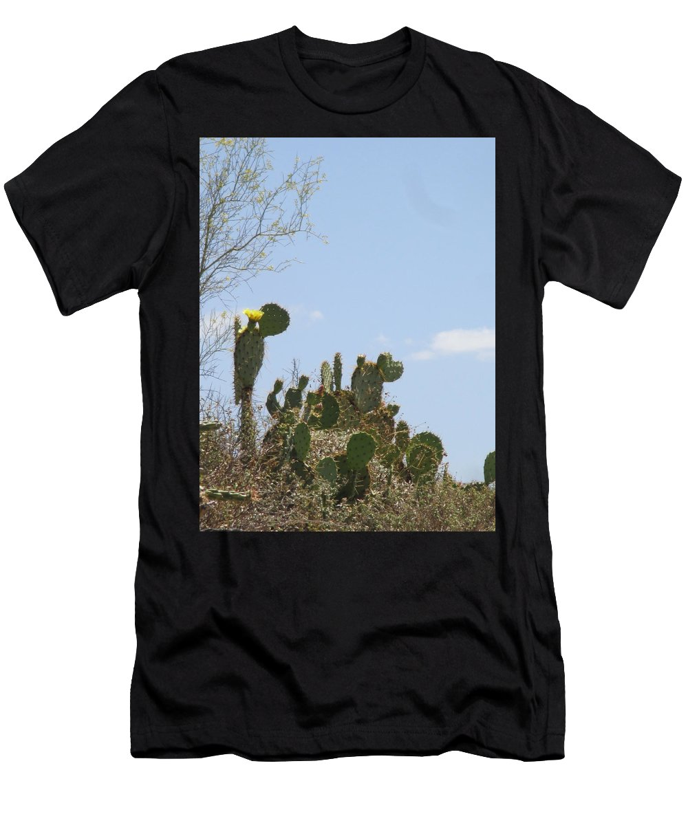 Desert Men's T-Shirt (Athletic Fit) featuring the photograph Beckoned by Debby Rutherford