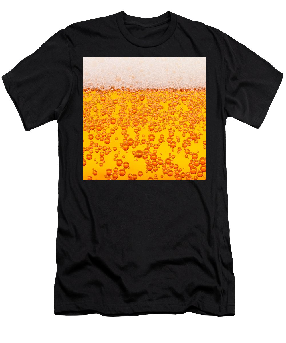 Drink Men's T-Shirt (Athletic Fit) featuring the digital art Beer Alcohol Drink Drinks by Retno Musyakimah