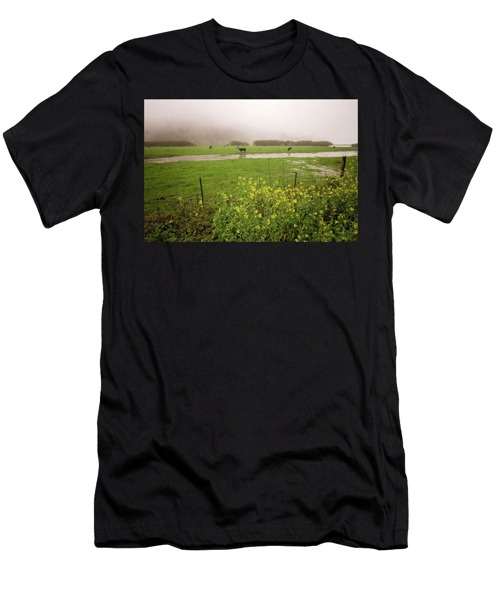 Flood Men's T-Shirt (Athletic Fit) featuring the photograph Before The Flood by Lynn Bauer