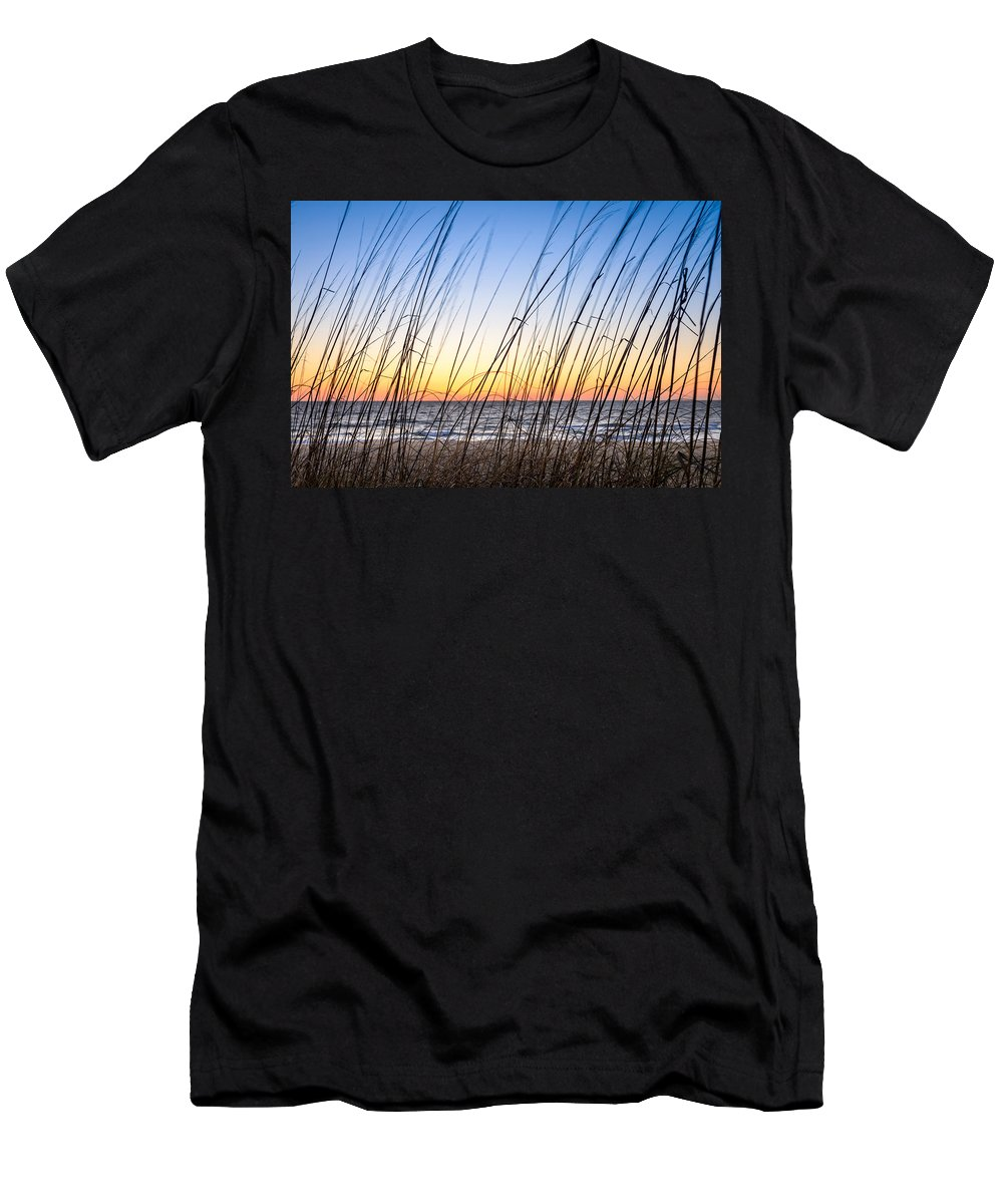 Landscape Men's T-Shirt (Athletic Fit) featuring the photograph Behind The Scenes by Michael Scott