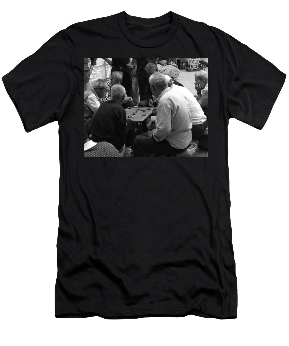 Beijing Men's T-Shirt (Athletic Fit) featuring the photograph Beijing City 12 by Xueling Zou