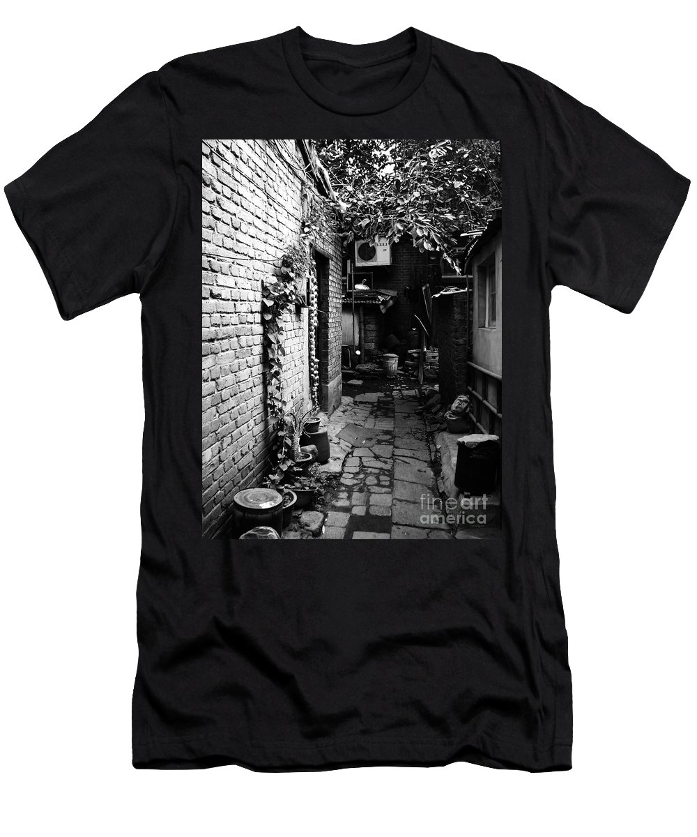 Beijing Men's T-Shirt (Athletic Fit) featuring the photograph Beijing City 17 by Xueling Zou