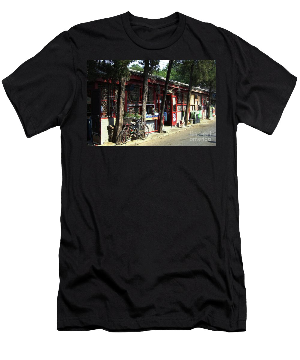 Beijing Men's T-Shirt (Athletic Fit) featuring the photograph Beijing City 29 by Xueling Zou