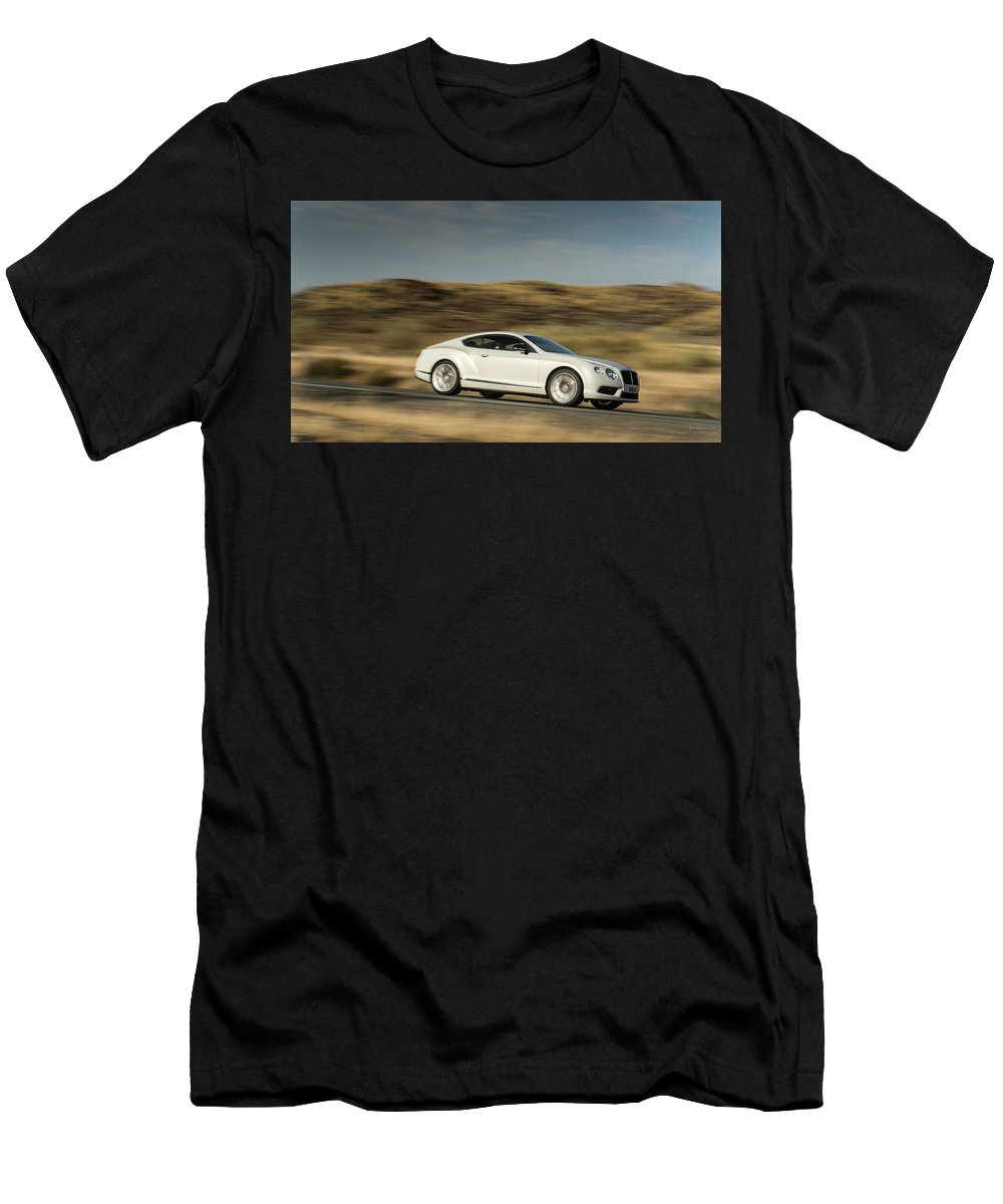 Bentley Continental Gt V8 T-Shirt featuring the photograph Bentley Continental GT V8 by Jackie Russo