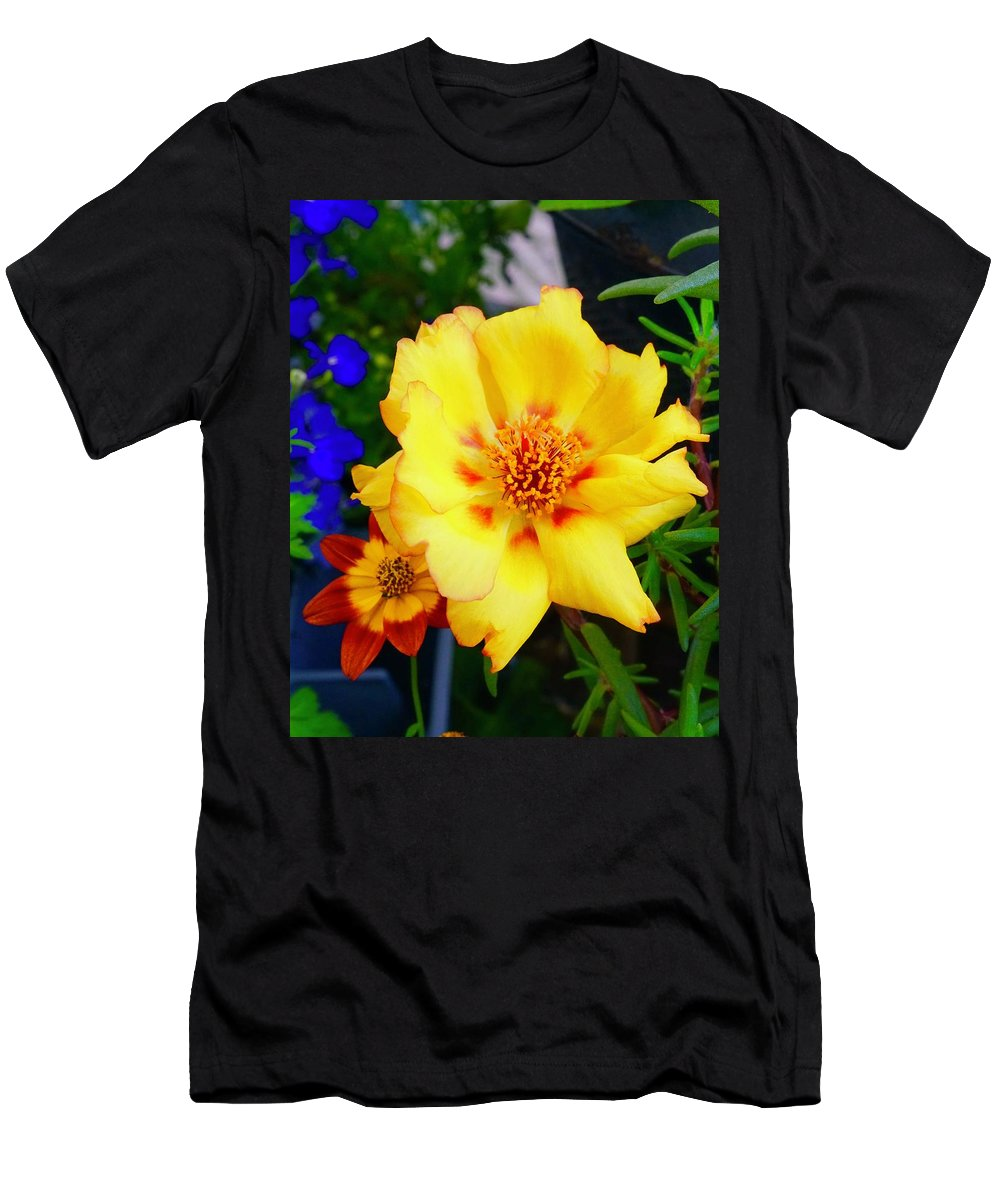 Blooms Men's T-Shirt (Athletic Fit) featuring the photograph Best Friends by Tim G Ross