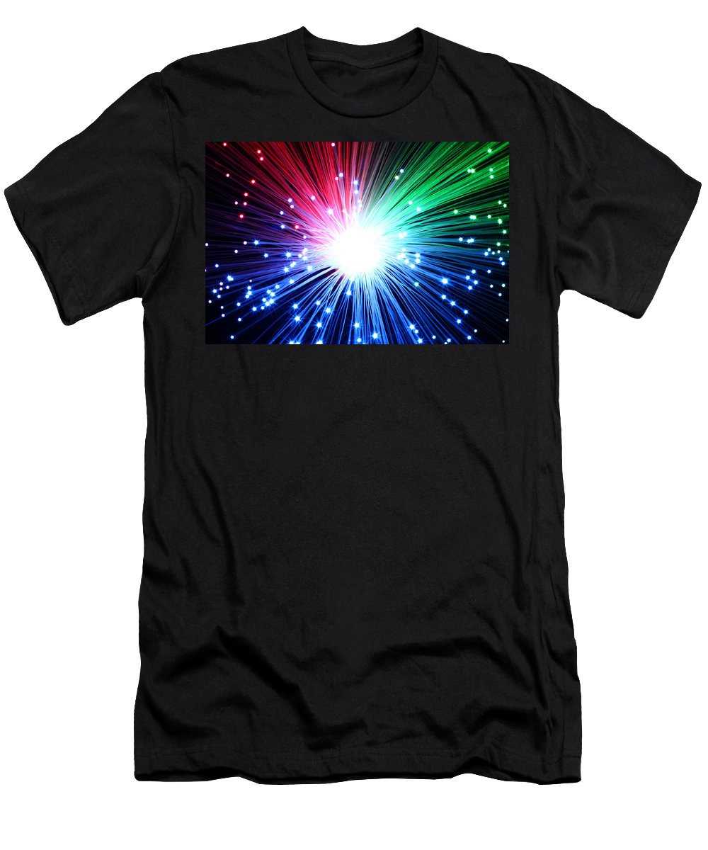Blast Men's T-Shirt (Athletic Fit) featuring the photograph Big Boom by Daniel Csoka