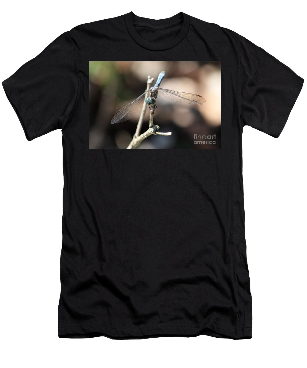 Bug Eyes Men's T-Shirt (Athletic Fit) featuring the photograph Big Bug Eyes by Carol Groenen