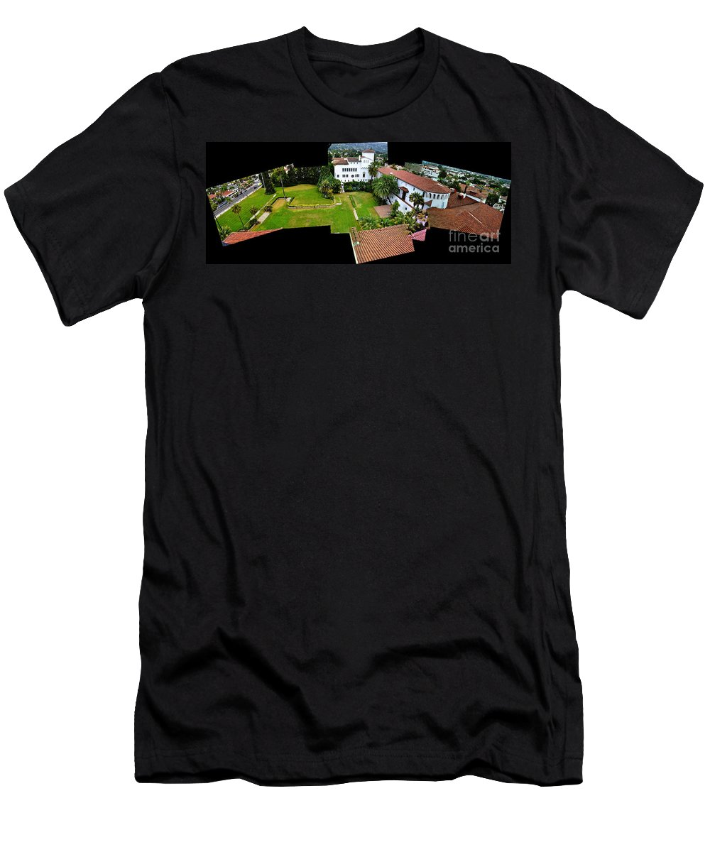 Clay Men's T-Shirt (Athletic Fit) featuring the photograph Birds Eye View by Clayton Bruster