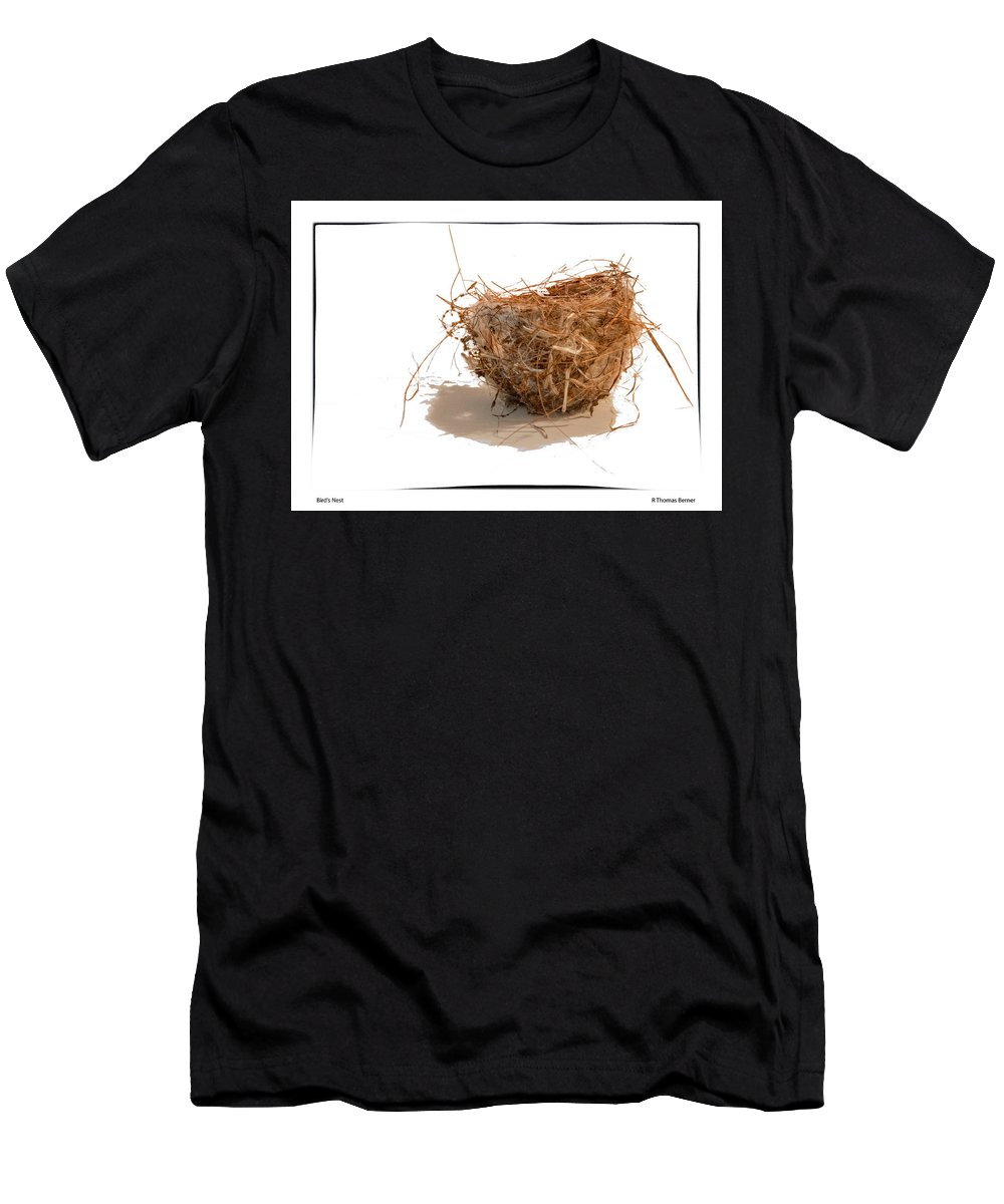 Bird Men's T-Shirt (Athletic Fit) featuring the photograph Bird's Nest by R Thomas Berner
