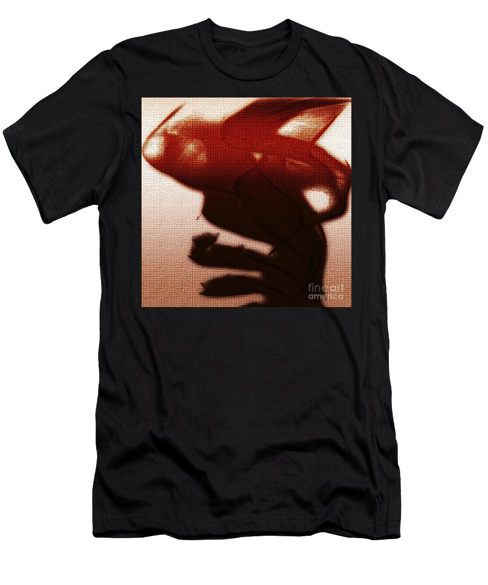 Clay Men's T-Shirt (Athletic Fit) featuring the digital art Birth Of A Dark Spirit by Clayton Bruster