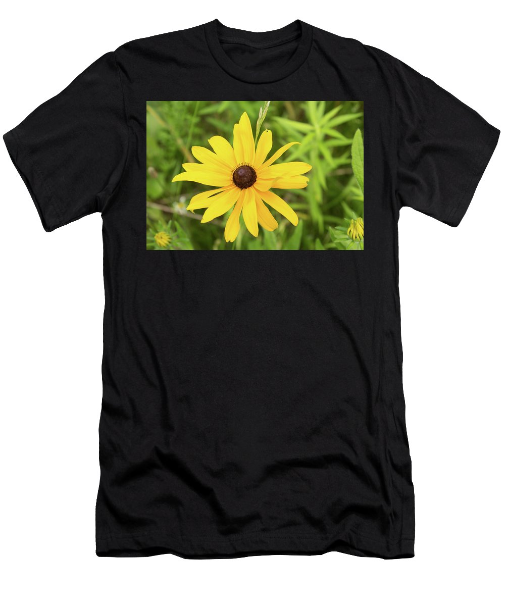 Rudbeckia Hirta Men's T-Shirt (Athletic Fit) featuring the photograph Black Eyed Susan IIi by Lori Lynn Sadelack