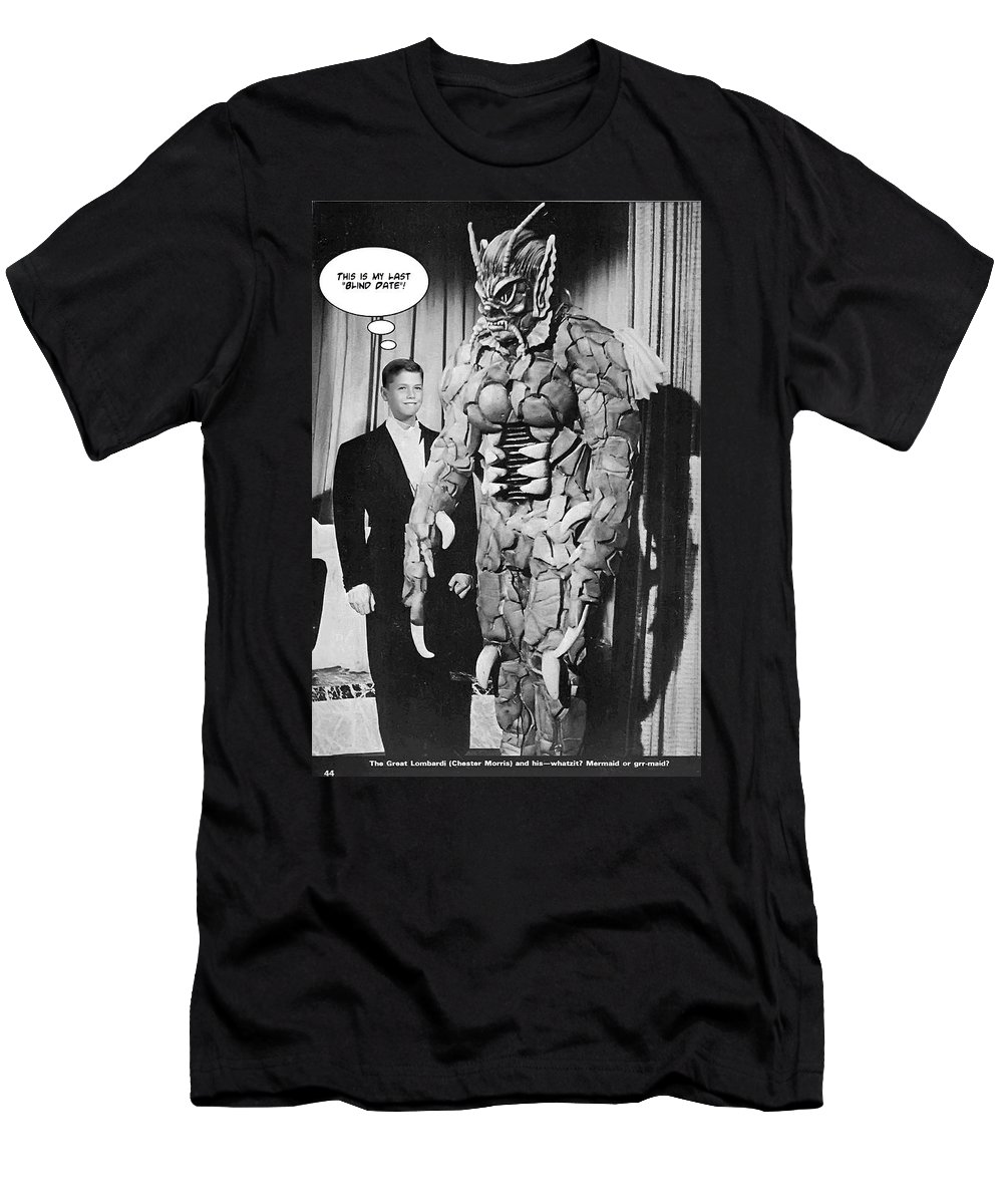 2d Men's T-Shirt (Athletic Fit) featuring the photograph Blind Date by Brian Wallace