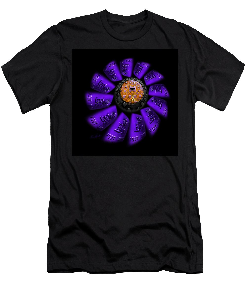 Flower Men's T-Shirt (Athletic Fit) featuring the photograph Bloom by Charles Stuart
