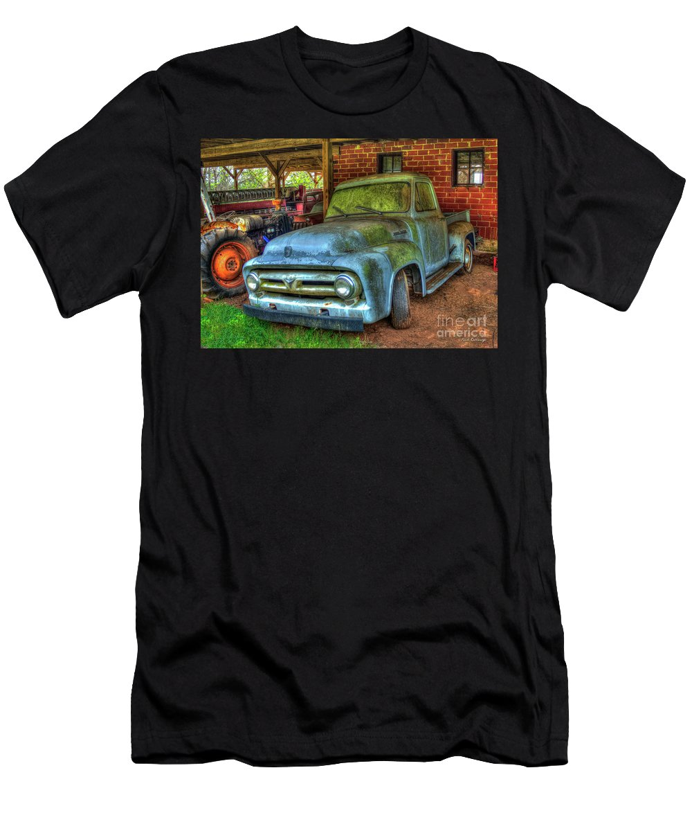 Blue Boy 1953 Ford Pickup Truck Art T Shirt For Sale By Reid Callaway 1950 To Callaway1953 Trucks Mens Athletic Fit Featuring The Photograph