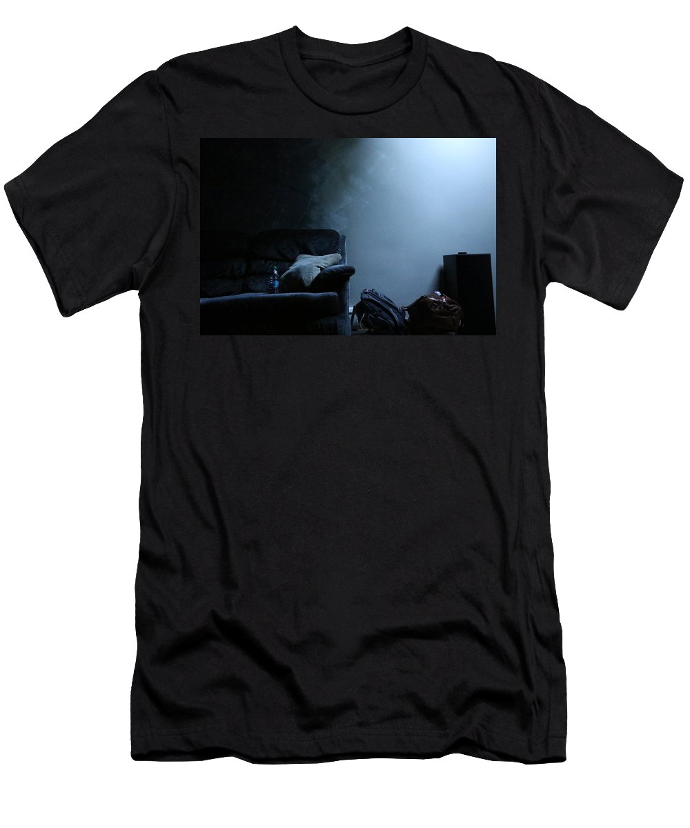 Still Life Men's T-Shirt (Athletic Fit) featuring the photograph Blue by Kevin Cote