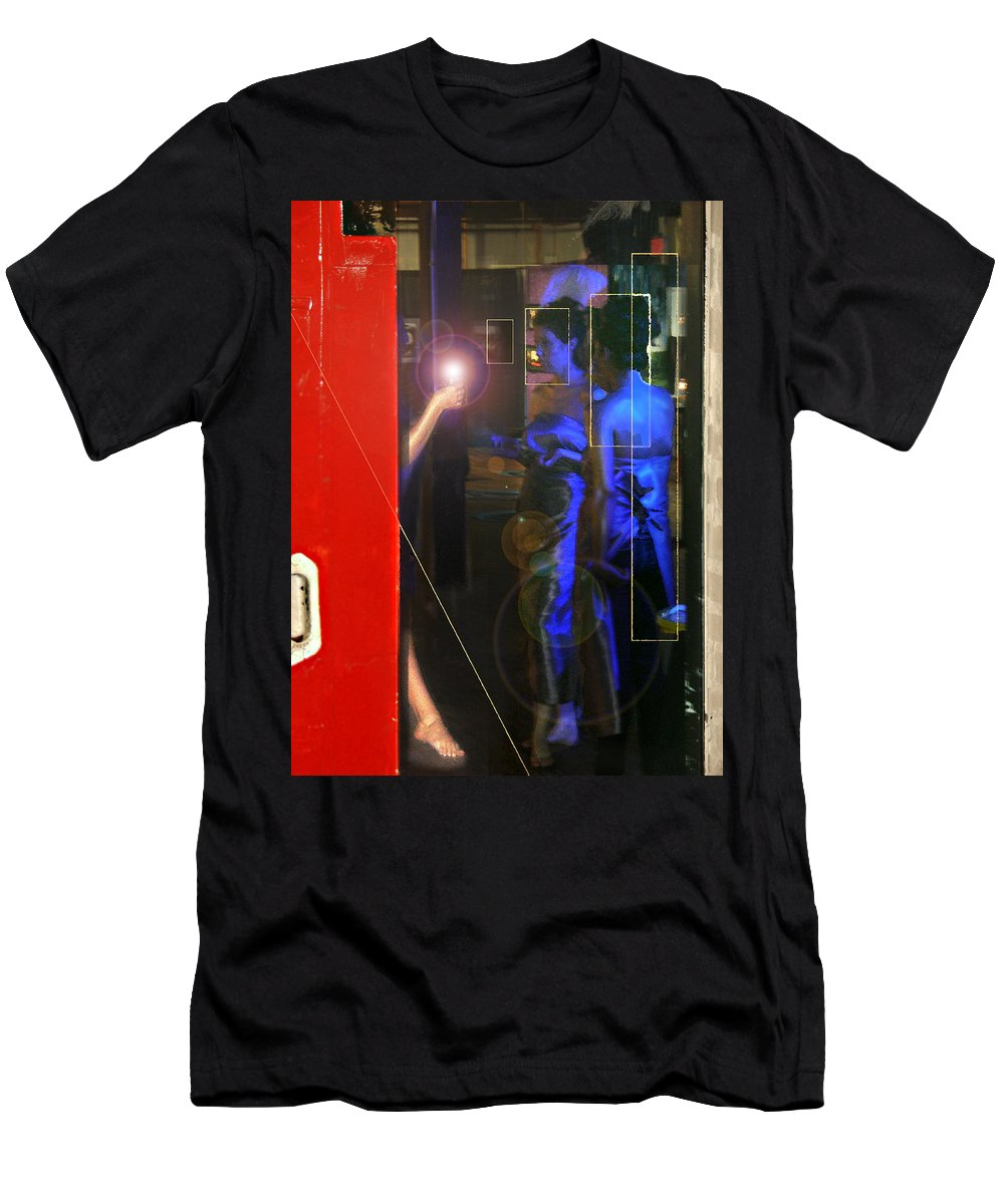 Female Figures T-Shirt featuring the photograph Blue Muses by Steve Karol