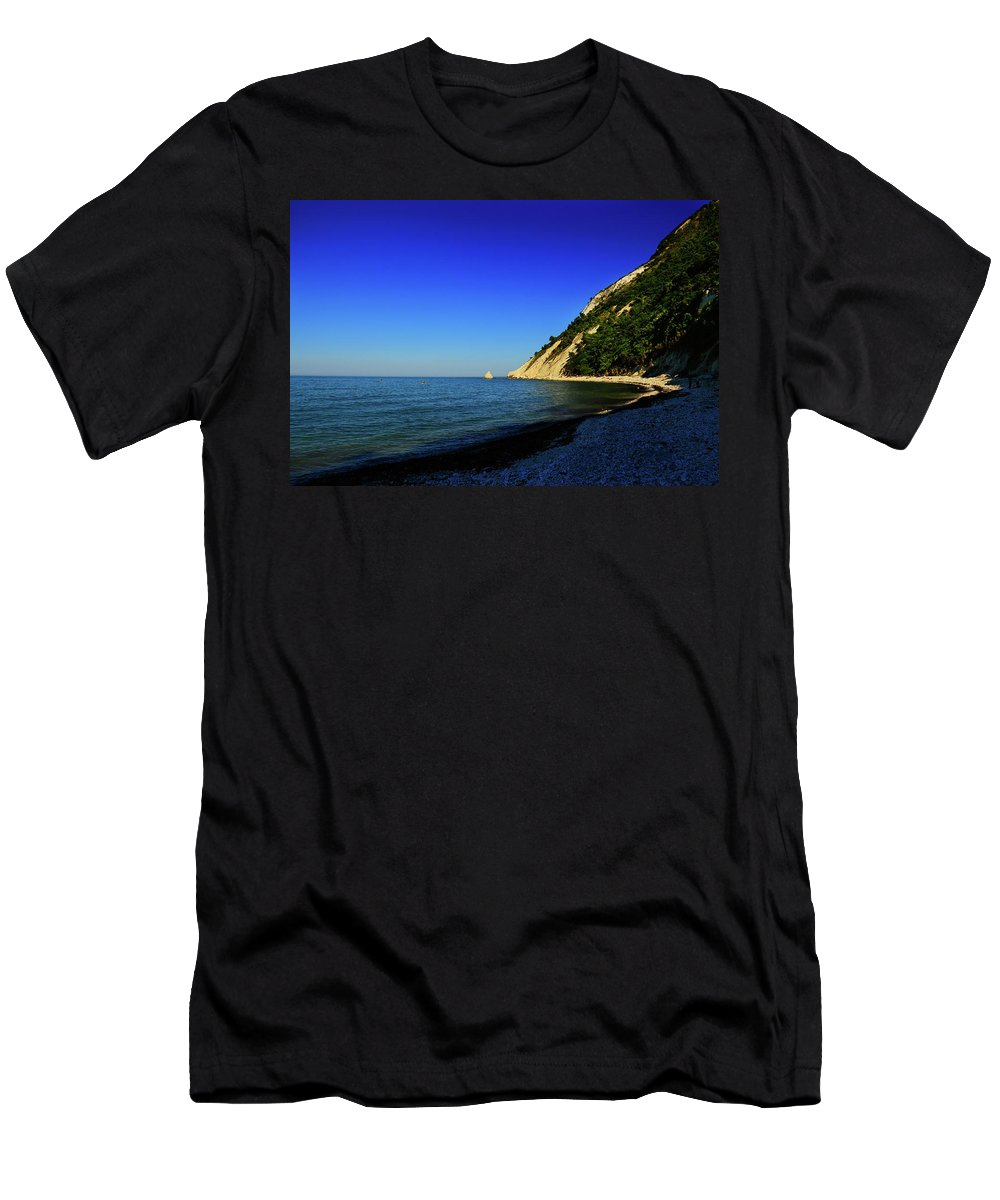 Blue Men's T-Shirt (Athletic Fit) featuring the photograph Blue Sky by Andrei Marius