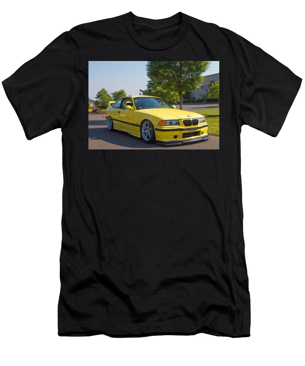 Bmw Men's T-Shirt (Athletic Fit) featuring the photograph Bmw M3 by Matt Delia