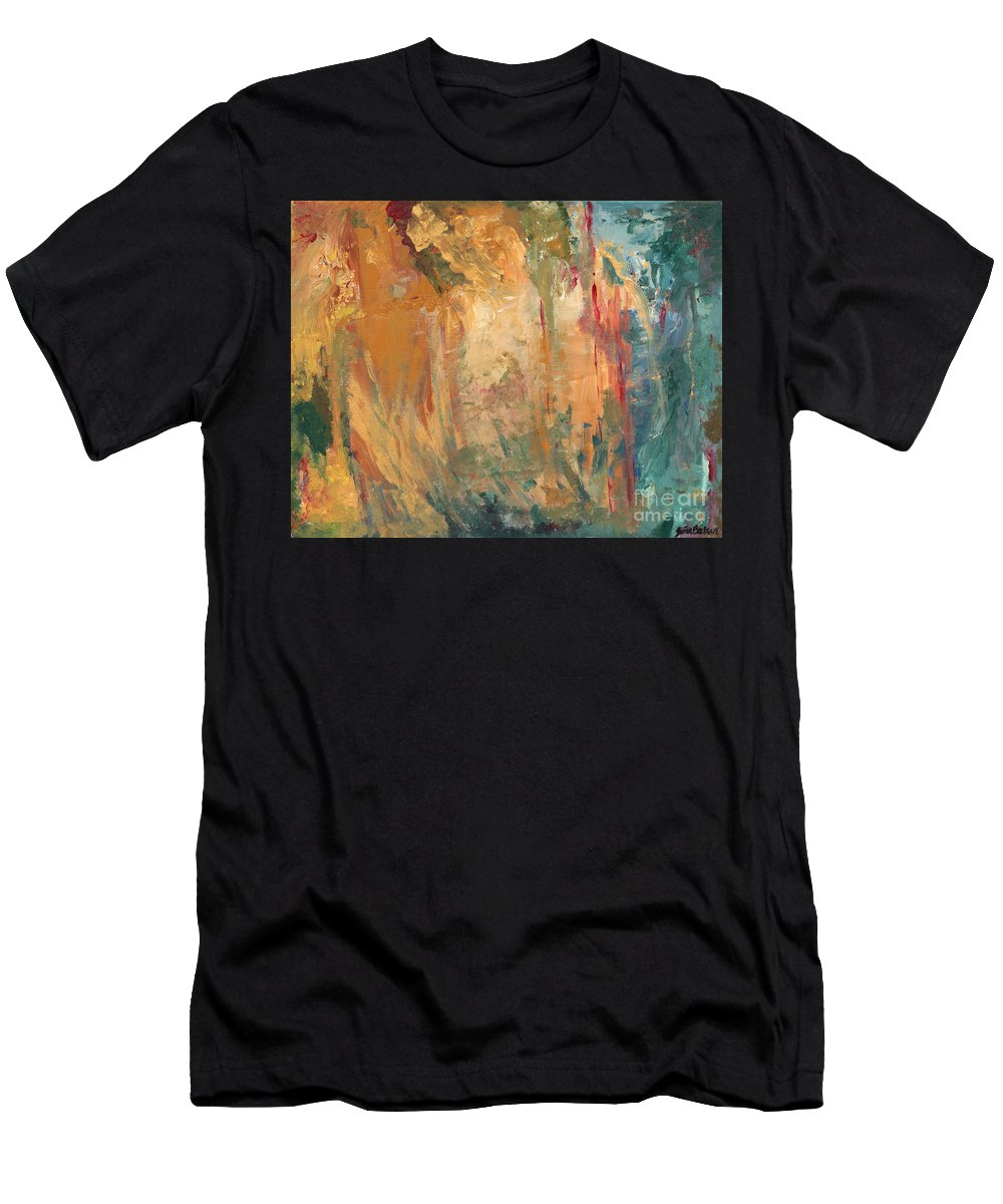 Abstract Painting Men's T-Shirt (Athletic Fit) featuring the painting Bob by Jaime Becker