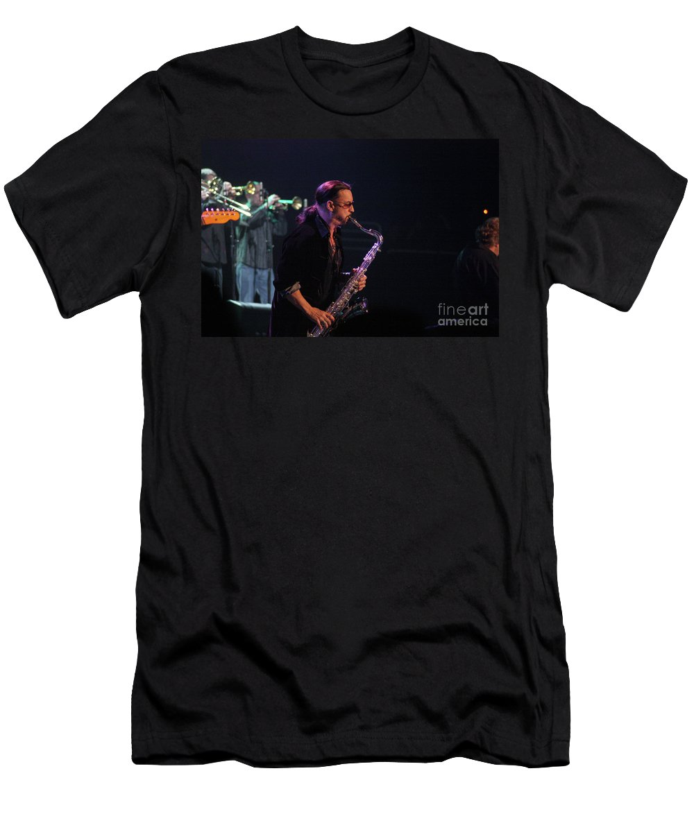 Bob Seger Men's T-Shirt (Athletic Fit) featuring the photograph Bob Seger-alto Reed 3936 by Gary Gingrich Galleries