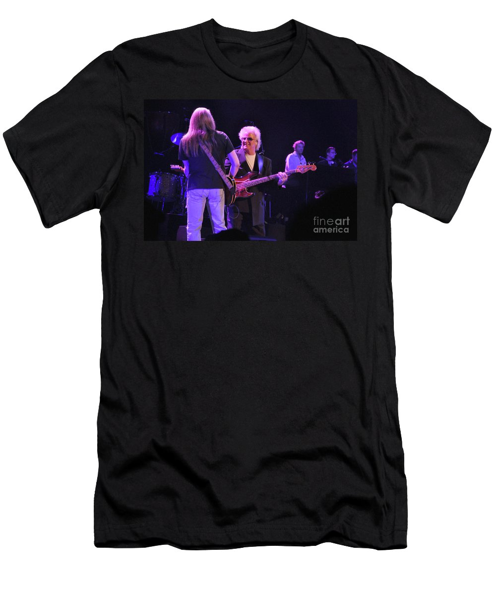 Bob Seger Men's T-Shirt (Athletic Fit) featuring the photograph Bob Seger-chris Campbell 6092 by Gary Gingrich Galleries