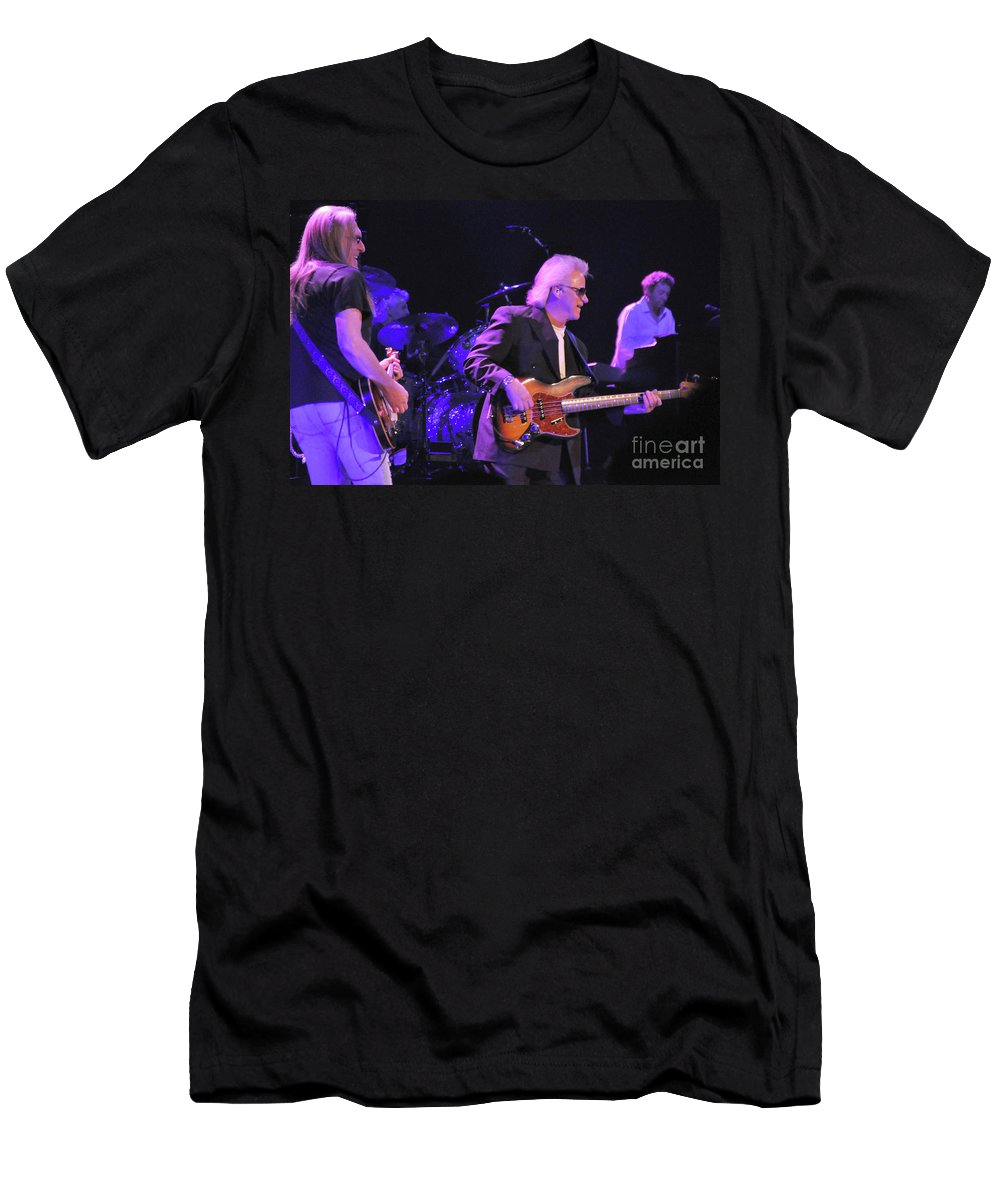 Bob Seger Men's T-Shirt (Athletic Fit) featuring the photograph Bob Seger-chris-mark-6105 by Gary Gingrich Galleries