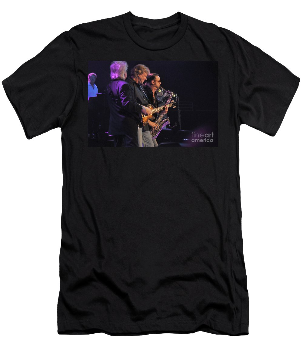 Bob Seger Men's T-Shirt (Athletic Fit) featuring the photograph Bob Seger-rhythm 6169 by Gary Gingrich Galleries
