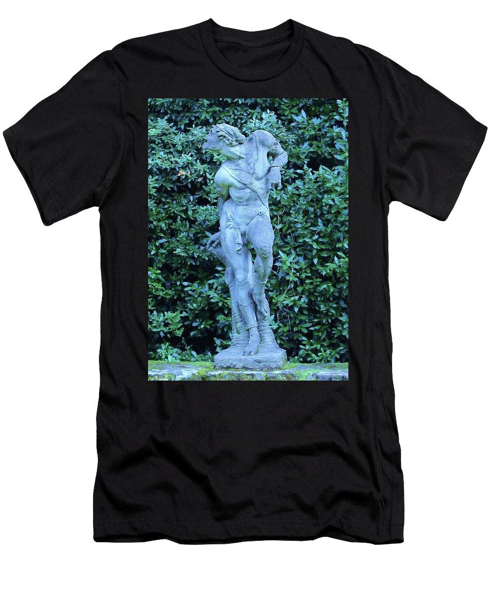 Gardens Men's T-Shirt (Athletic Fit) featuring the photograph Boboli Gardens, Florence by Slawek Aniol