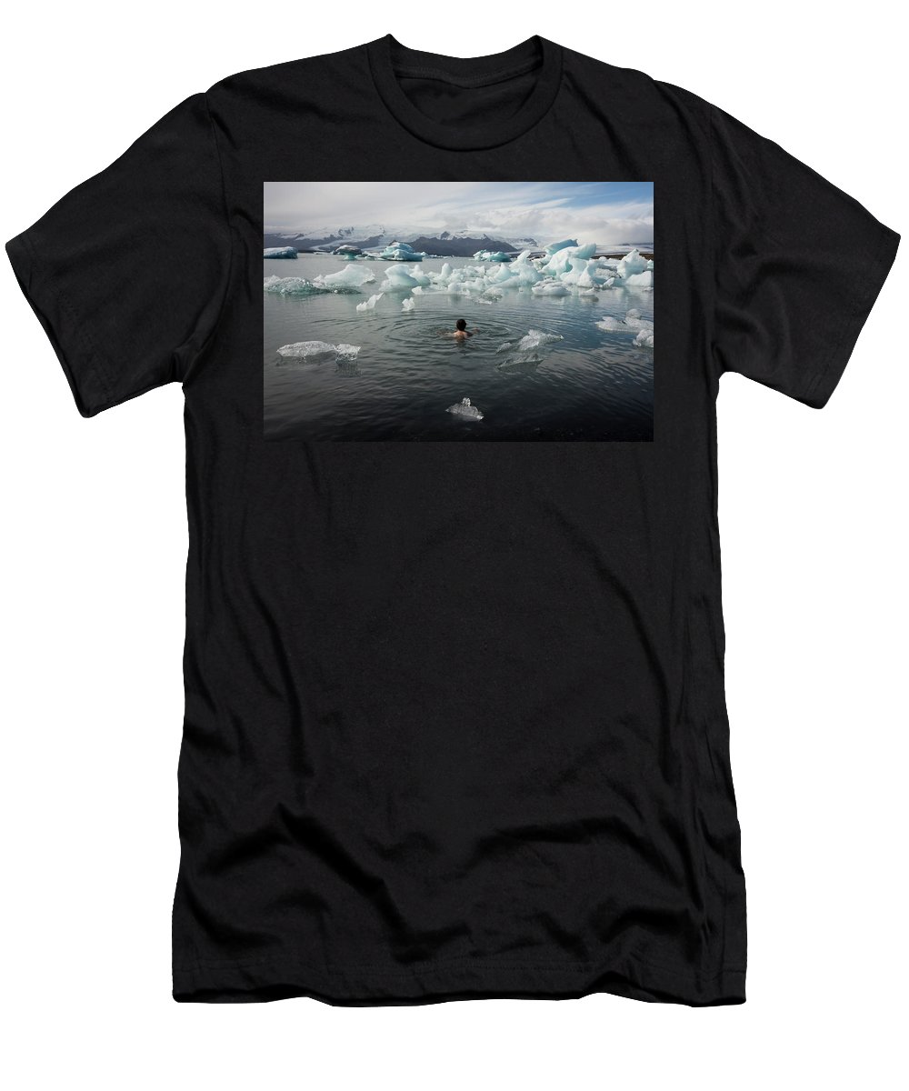 30-34 Years Men's T-Shirt (Athletic Fit) featuring the photograph Bodo000025 by Dorin Bofan