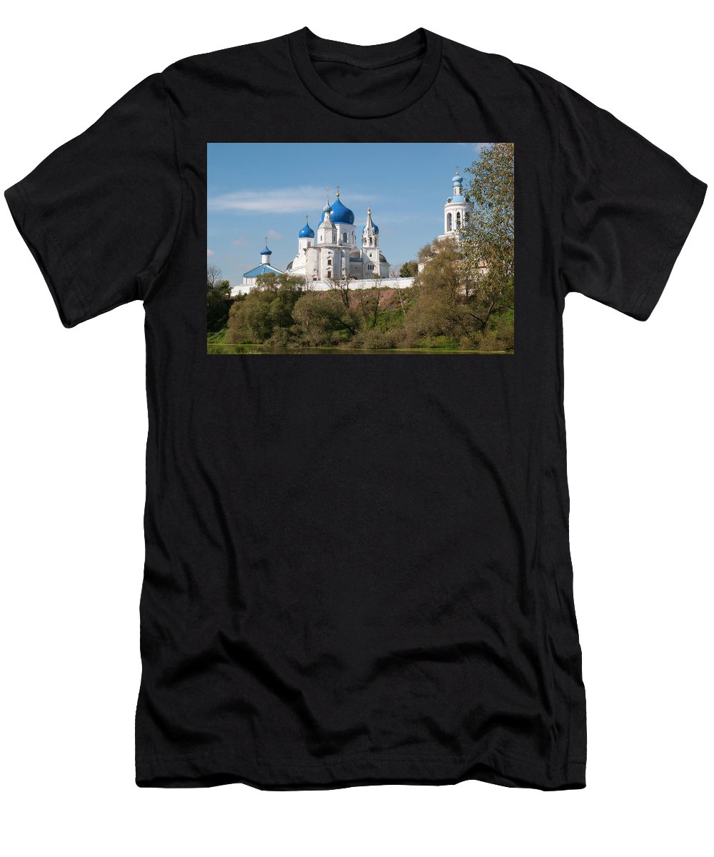 Monastery Men's T-Shirt (Athletic Fit) featuring the photograph Bogolyubov Monastery by Sergei Dolgov