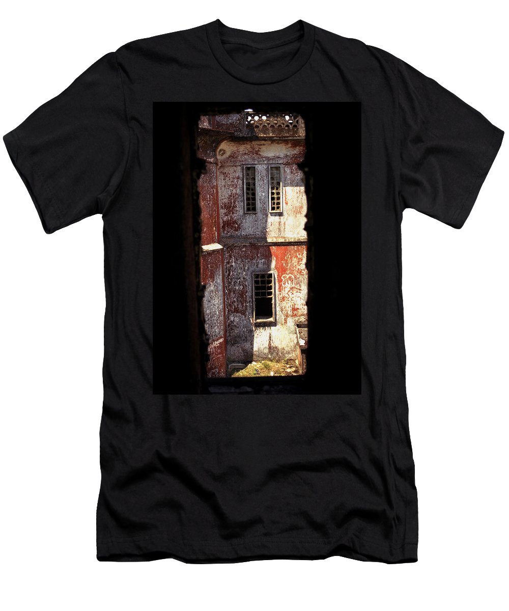 Bokor Men's T-Shirt (Athletic Fit) featuring the photograph Bokor by Patrick Klauss