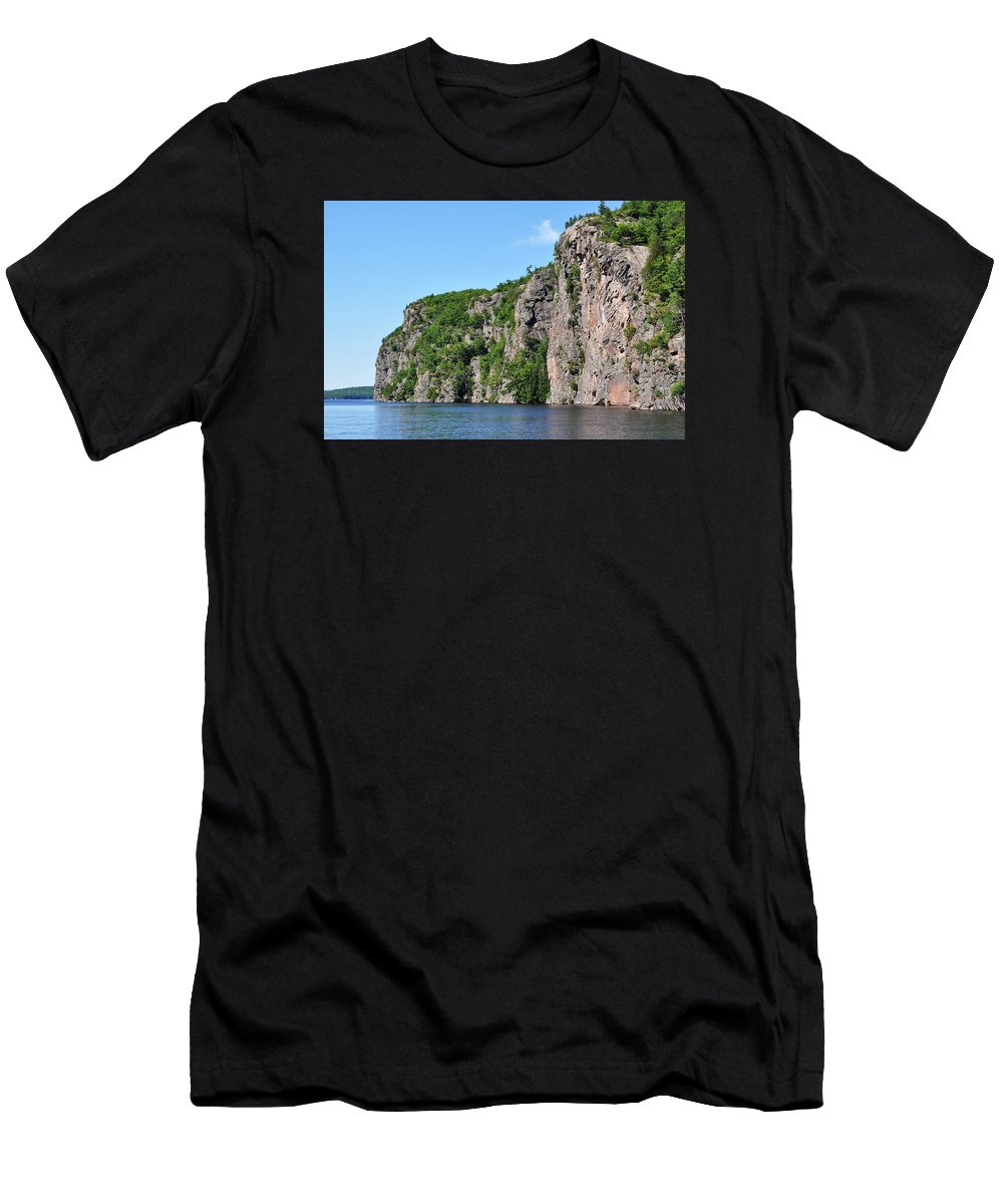 Bon Echo Men's T-Shirt (Athletic Fit) featuring the photograph Bon Echo by Denise Tipton