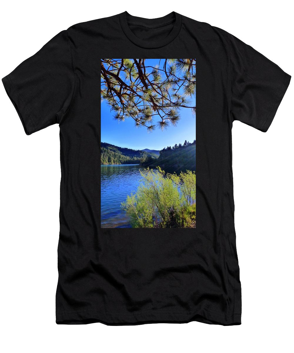 Bonito Men's T-Shirt (Athletic Fit) featuring the photograph Bonito by Skip Hunt