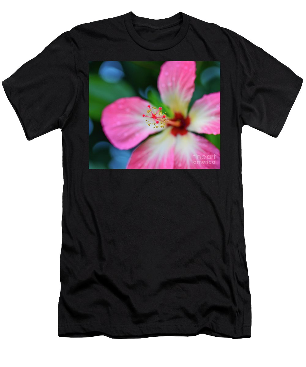 Bouganvilla Men's T-Shirt (Athletic Fit) featuring the photograph Bouganvilla by Kevin Williams