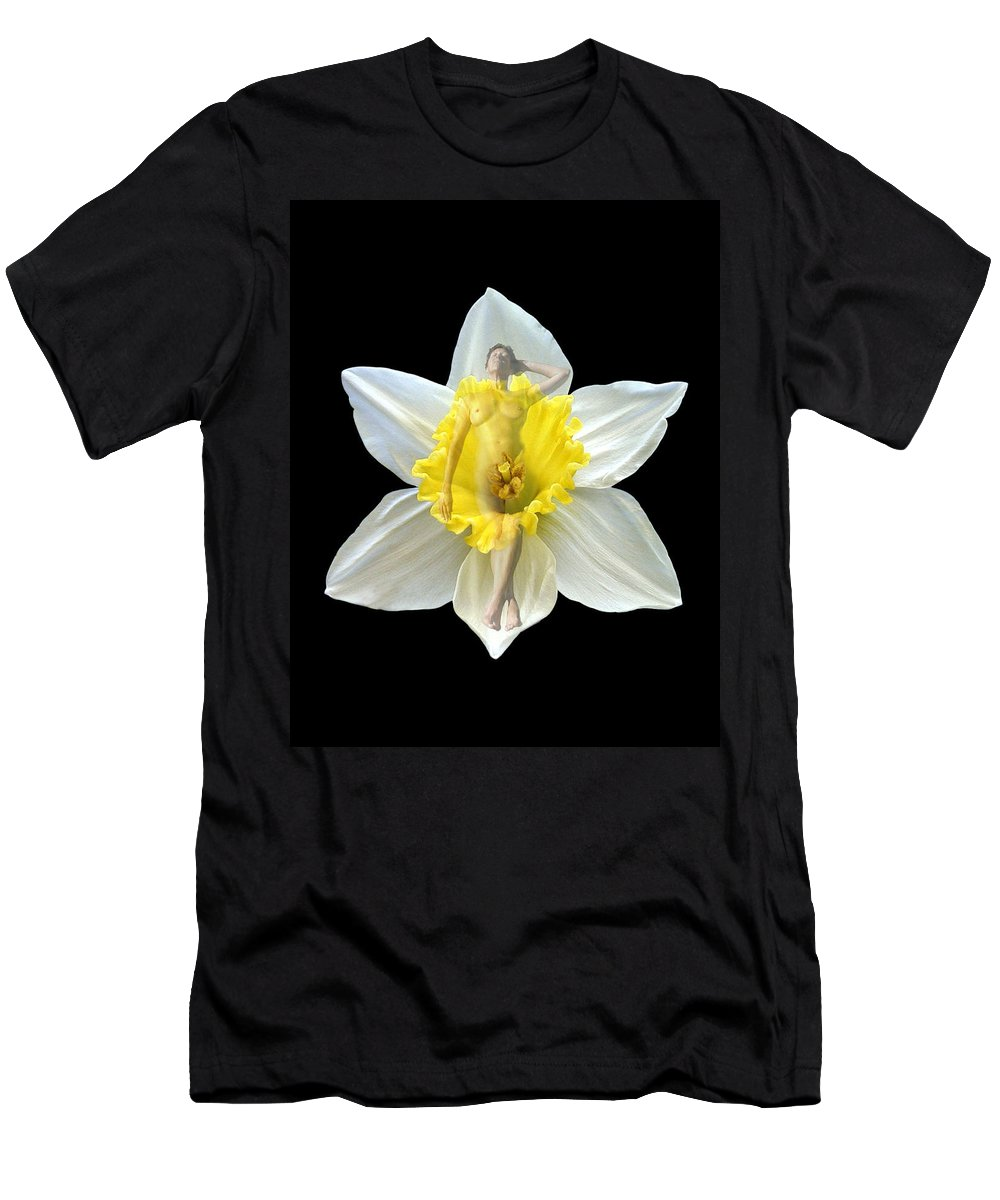 Nudes Men's T-Shirt (Athletic Fit) featuring the photograph Bouquet by Kurt Van Wagner