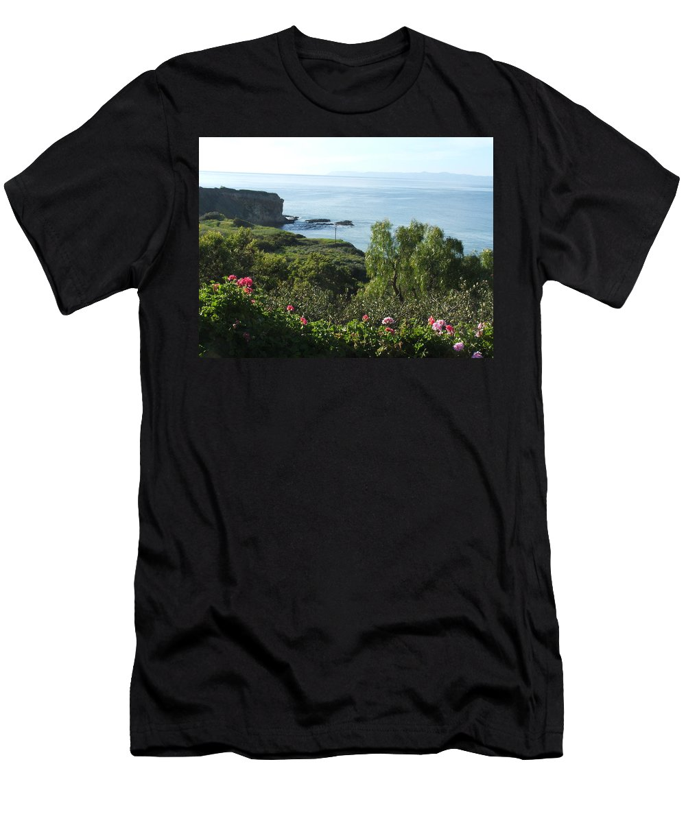 Landscape Men's T-Shirt (Athletic Fit) featuring the photograph Breath Of Fresh Air by Shari Chavira
