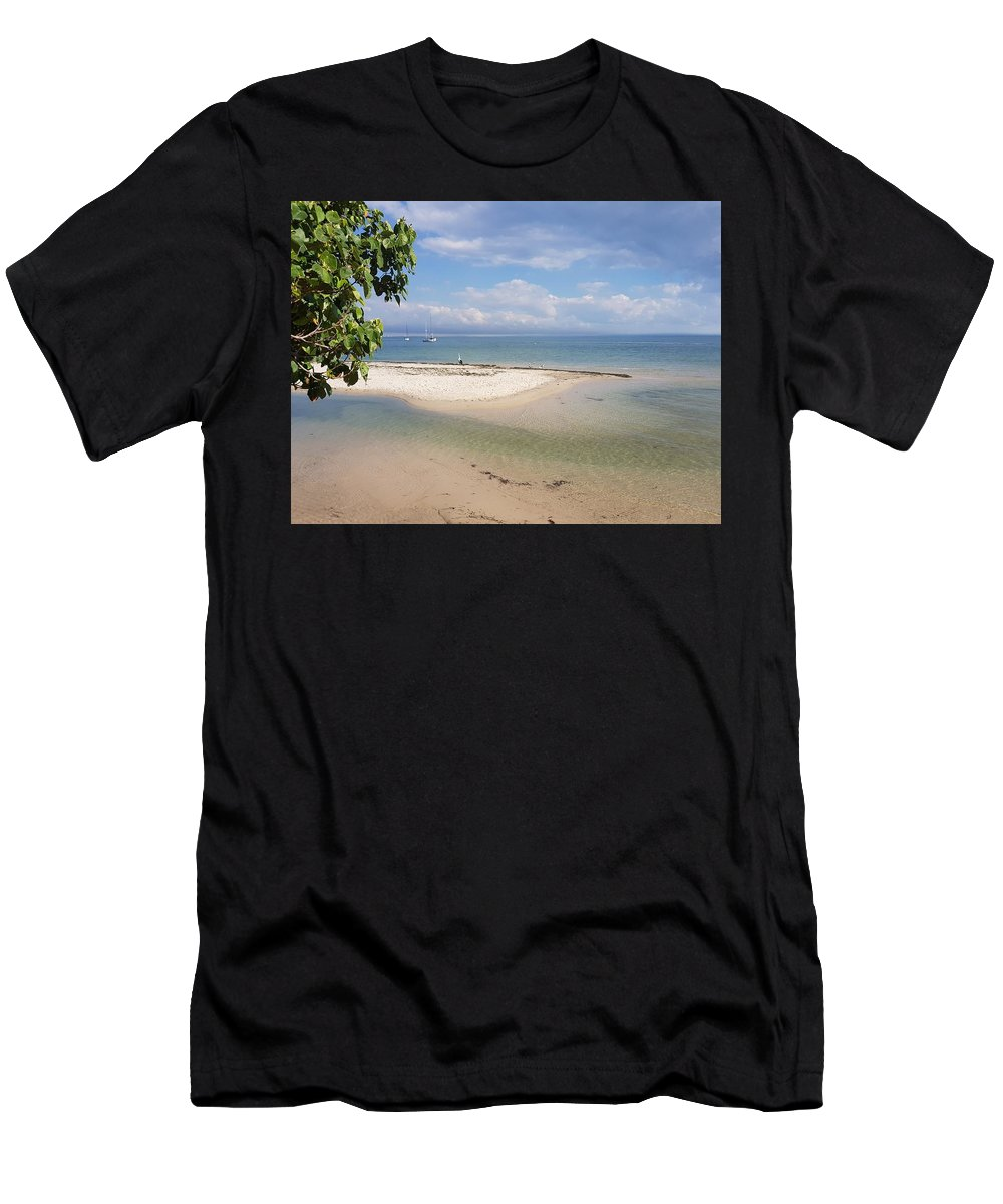 Bribie Island Men's T-Shirt (Athletic Fit) featuring the photograph Bribie Island by Cassy Allsworth