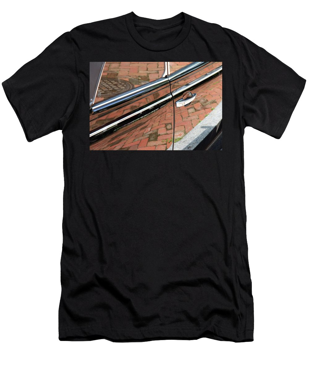 Brick Men's T-Shirt (Athletic Fit) featuring the photograph Brick Car by Cora Wandel
