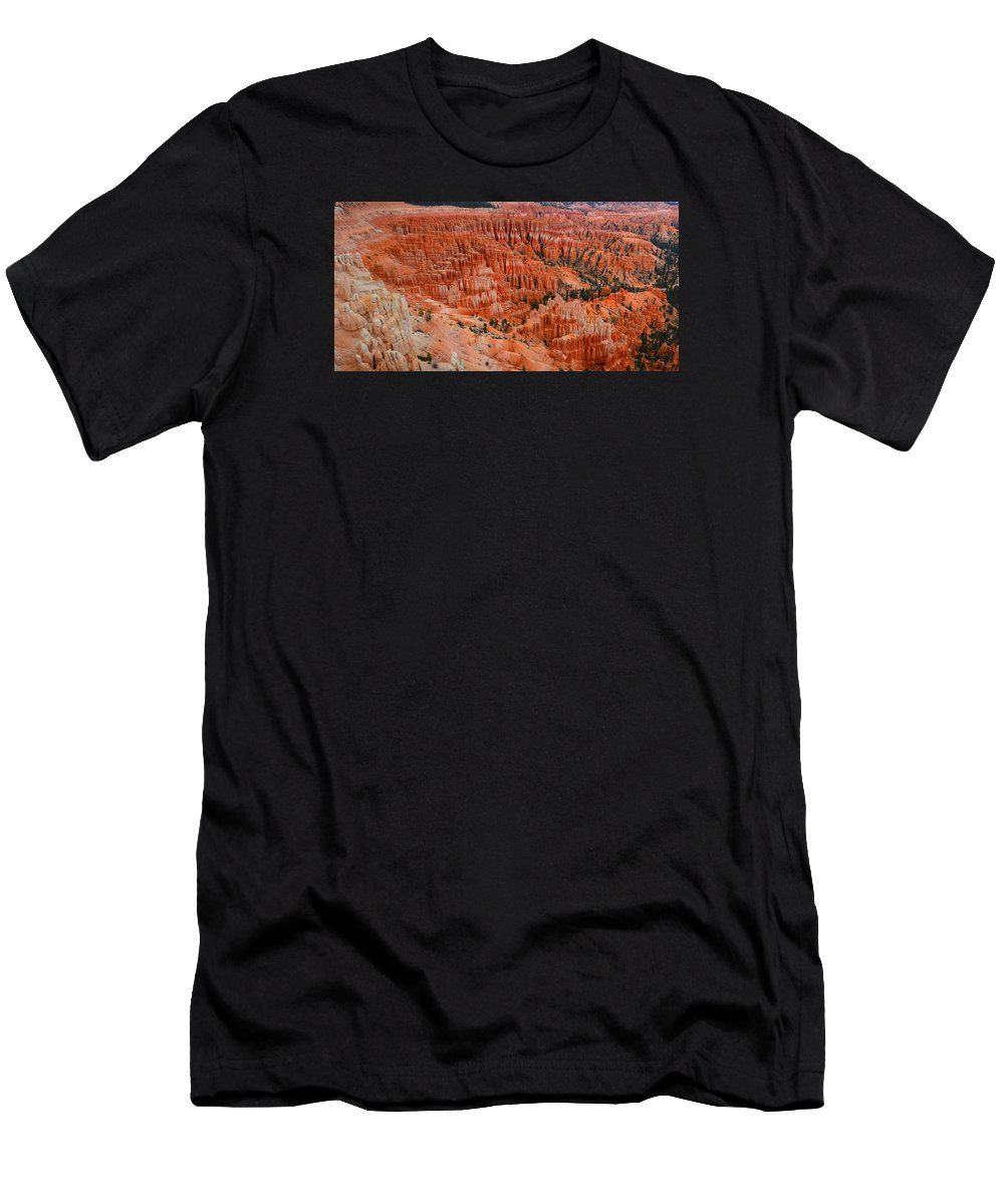 Bryce Canyon Men's T-Shirt (Athletic Fit) featuring the photograph Bryce Canyon Megapixels by Raymond Salani III