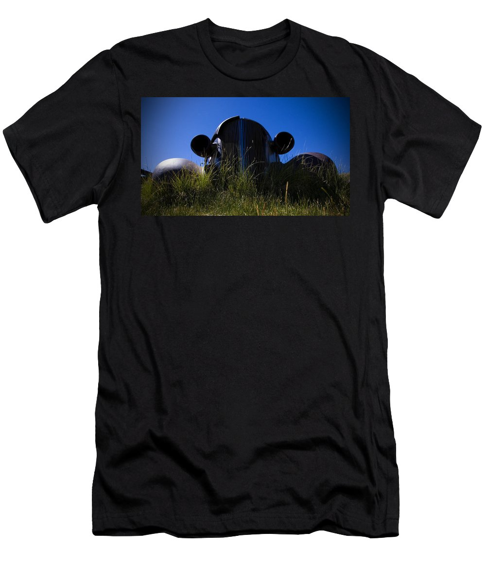 Bug Eyes Men's T-Shirt (Athletic Fit) featuring the photograph Bug Eyes by Chris Brannen