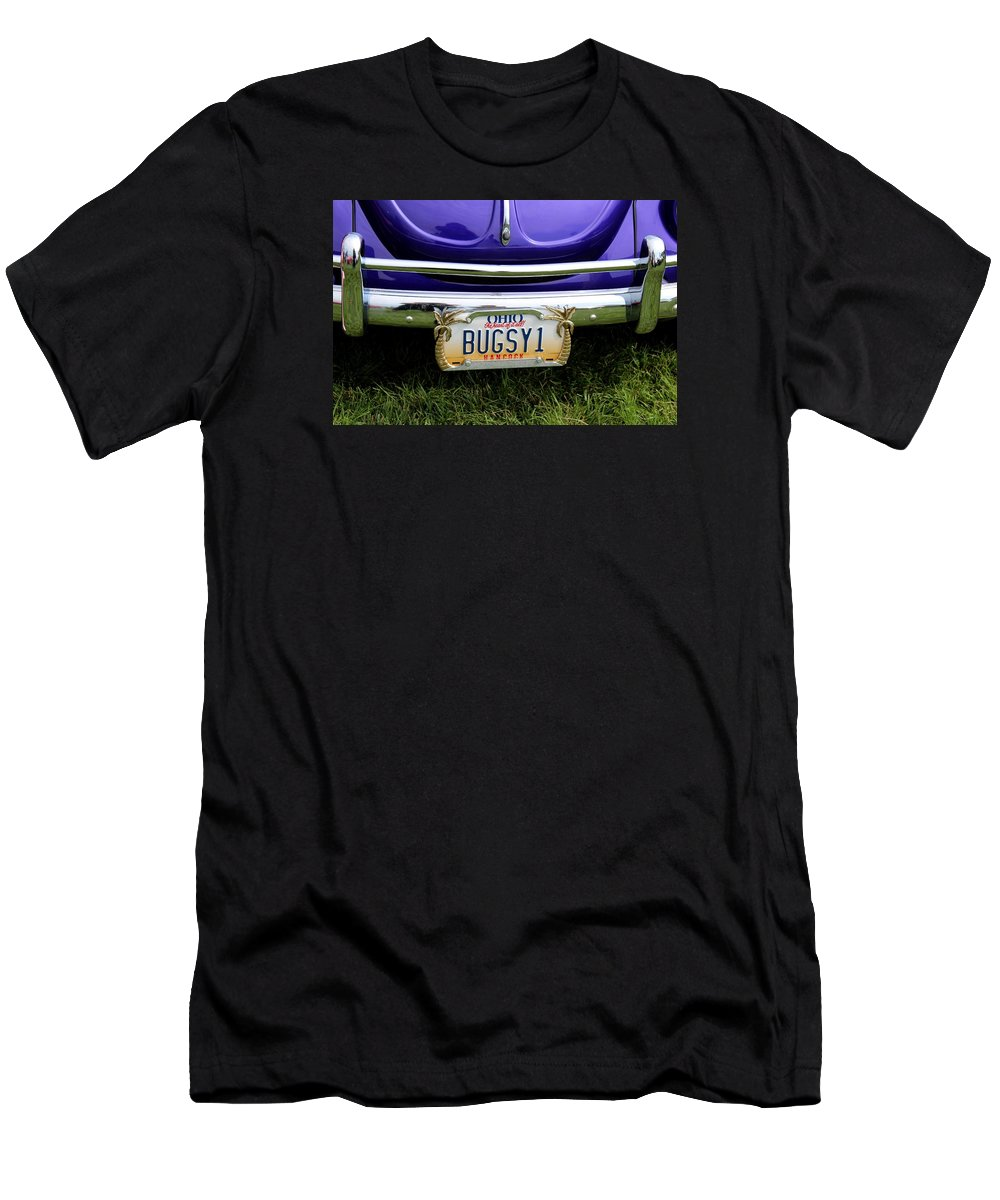Car Men's T-Shirt (Athletic Fit) featuring the photograph Bugsy II by Michiale Schneider